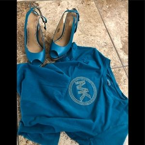 Other - Ladies MK Tee Shirt & Nine West Shoes